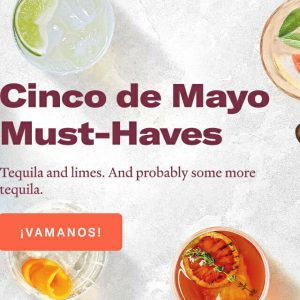 Tequila Time: 5 Perfect Cocktails For Cinco de Mayo