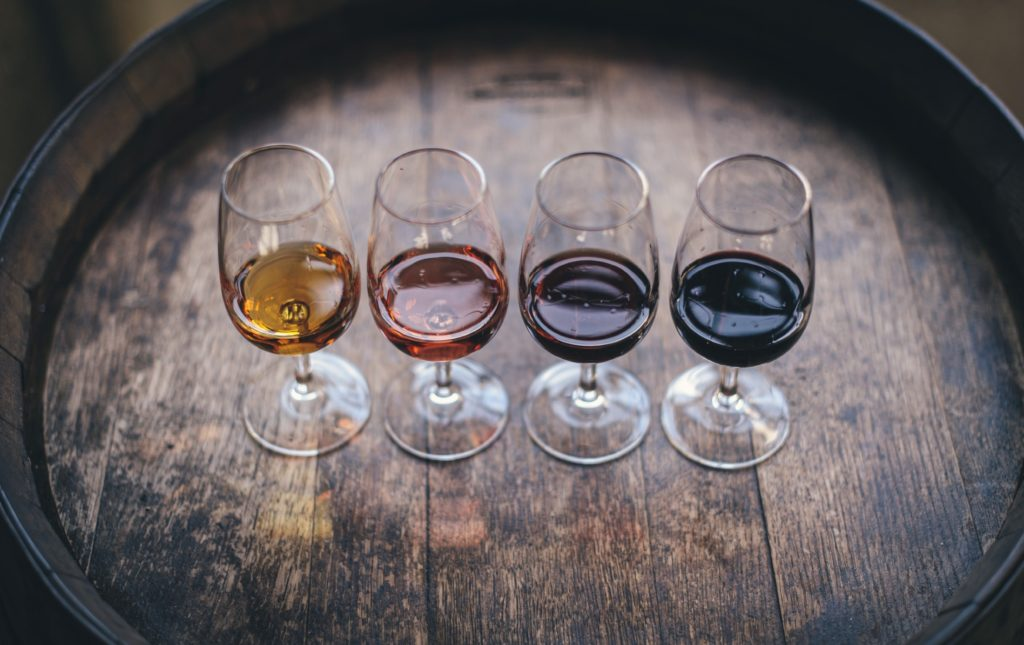 Saucey's Wine Guide. Photo by Maksym Kaharlytskyi